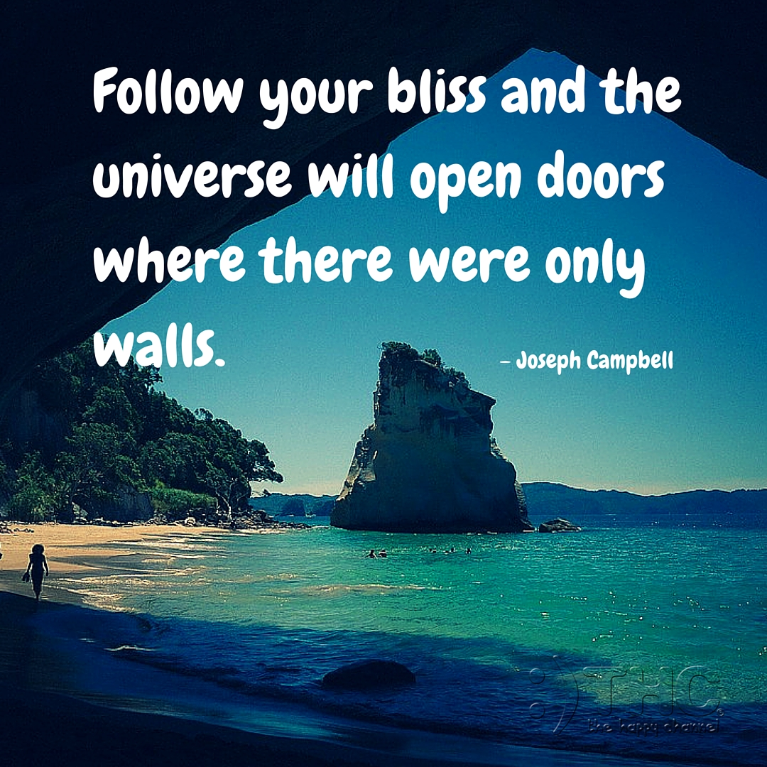 Follow Your Bliss…