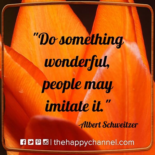 Do Something Wonderful…