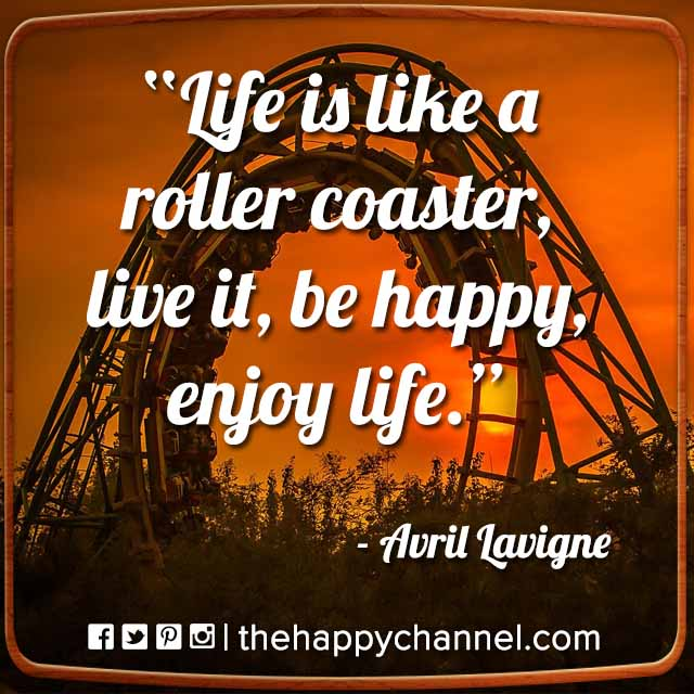 Life is Like a Roller Coaster…