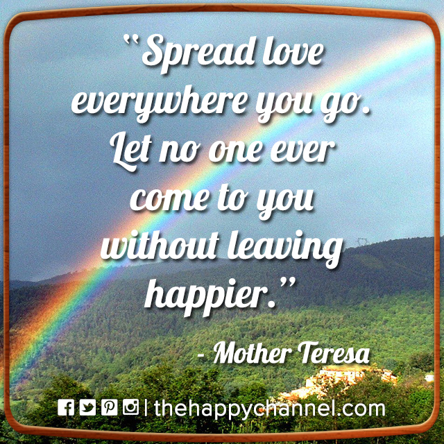 Spread Love Everywhere…