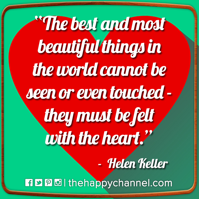 The Best & Most Beautiful Things…