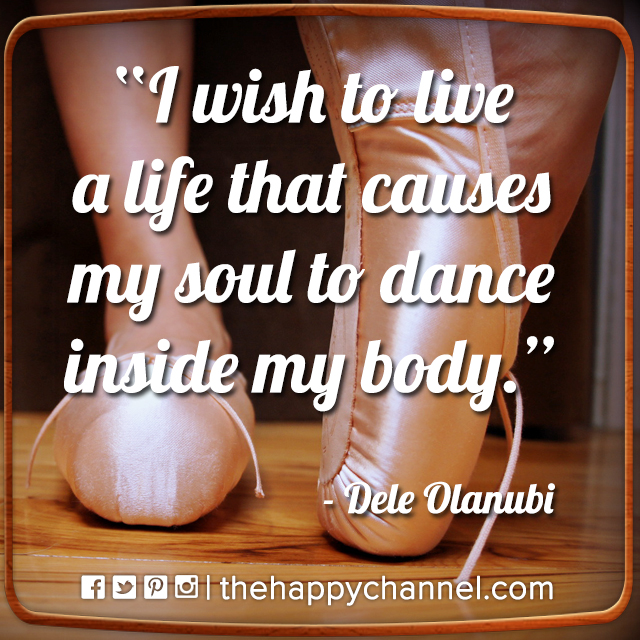 My Soul to Dance…