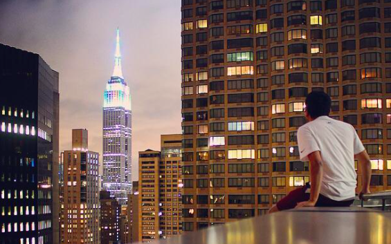 How Meditating From a 61 Story Building Changed My Life