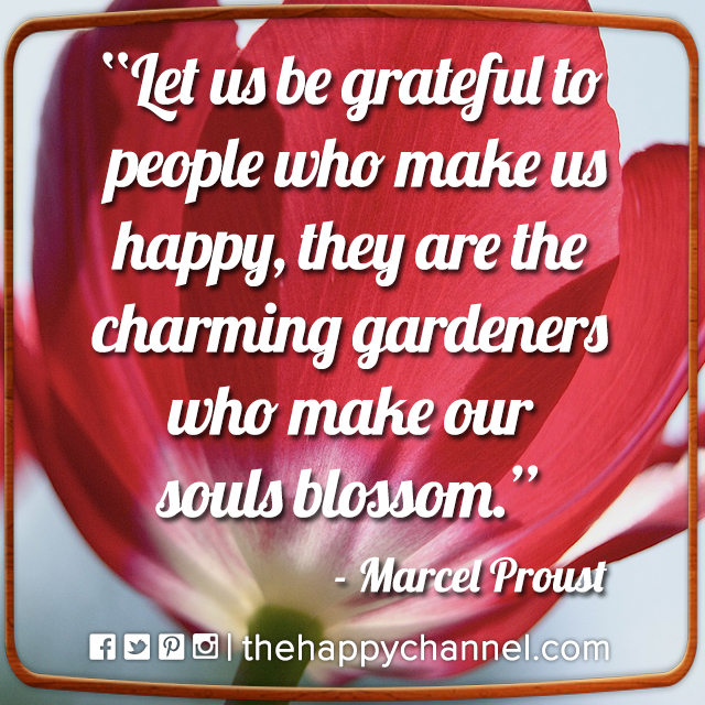 Let Us Be Grateful…