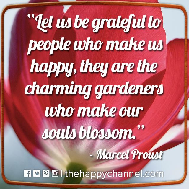 Let Us Be Grateful…