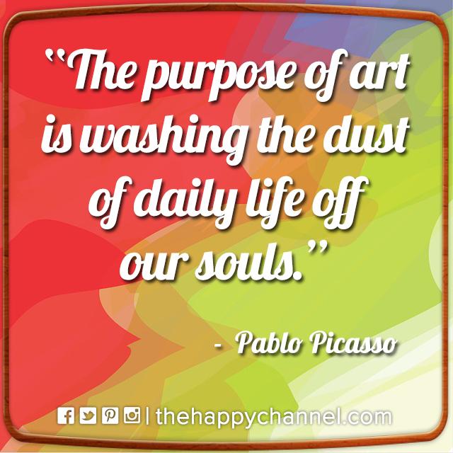 The Purpose of Art…