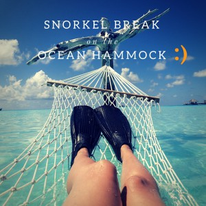 Snorkel Break on Ocean Hammock