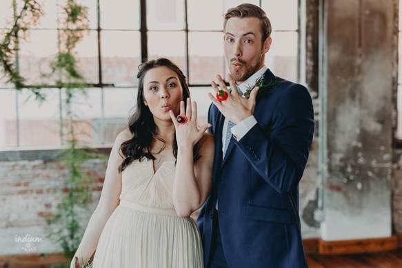 Wedding Day Ring Pop Surprise