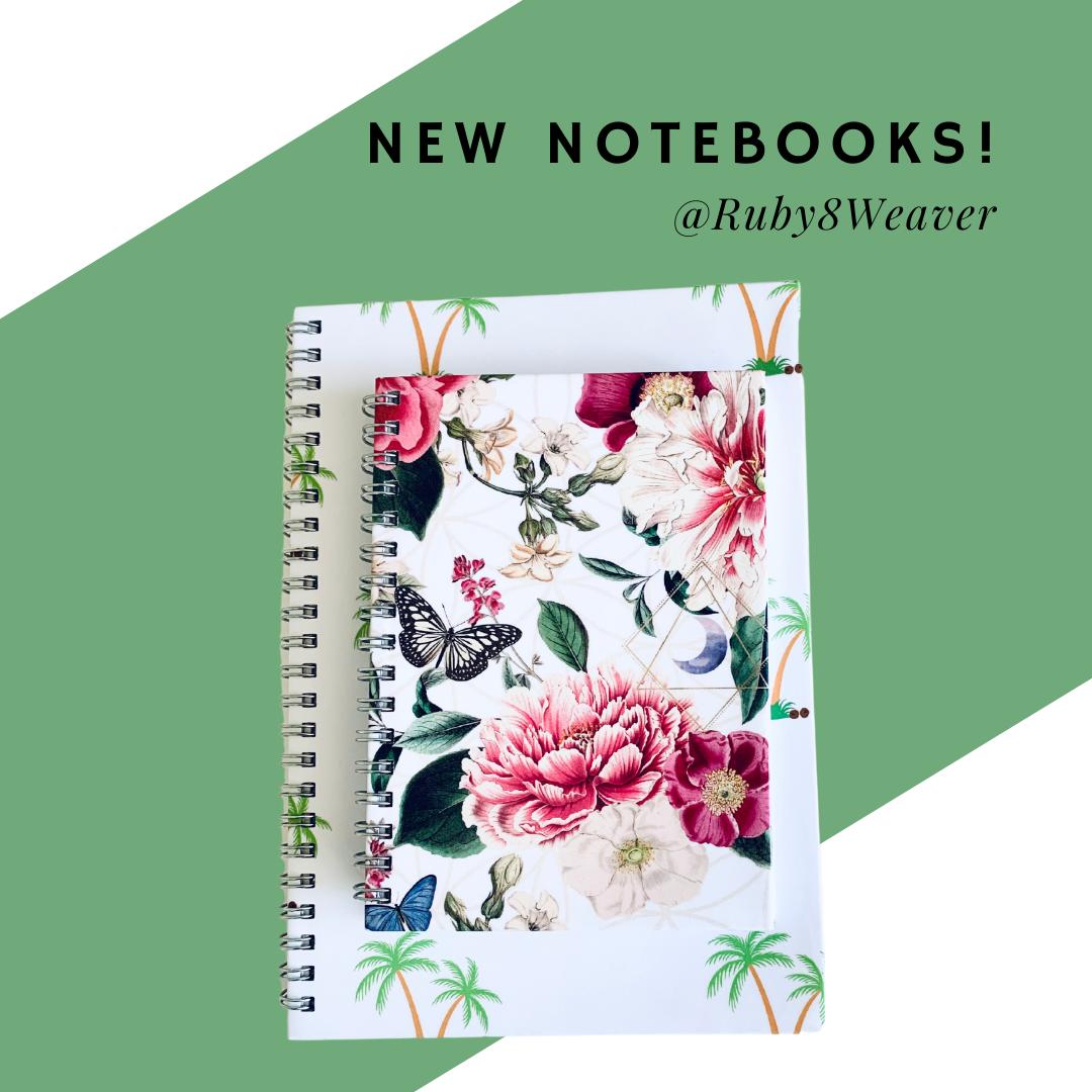 Ruby8Weaver - Spiral Notebooks